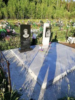 Благоустройство могил, установка памятника в Красноярске_1