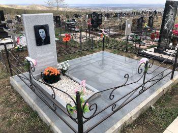 Благоустройство могил, установка памятника в Красноярске_2