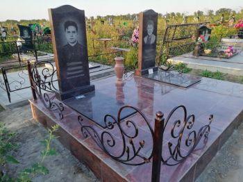 Благоустройство могил, установка памятника в Красноярске_5