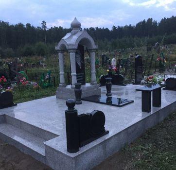 Благоустройство могил в Красноярском крае_1