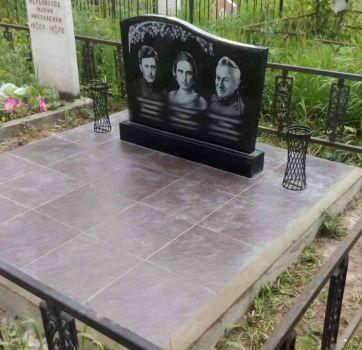 Благоустройство могильных захоронений_2