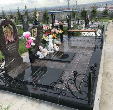 Недорогое благоустройство могил_2