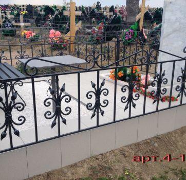 Кованые изделия на могилу_10