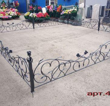 Кованые изделия на могилу_13