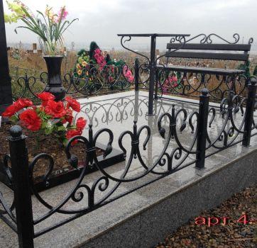 Кованые изделия на могилу_15