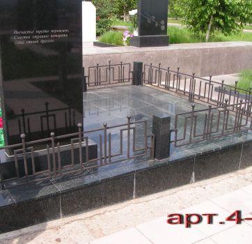 Кованые изделия на могилу_18