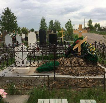 Кованые изделия на могилу_19