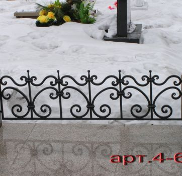 Кованые изделия на могилу_25