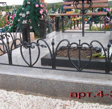 Кованые изделия на могилу_9