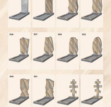 Формы памятников на могилы_13