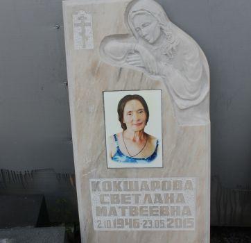Памятники на кладбище_27