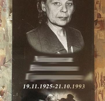Черно белые портреты на граните_1