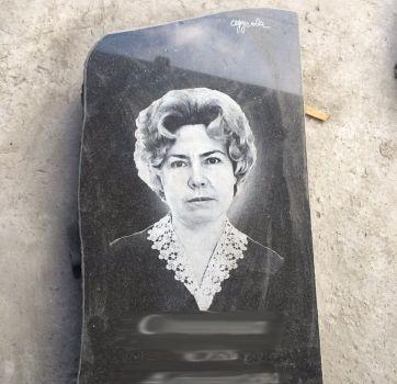 Черно белый портрет на памятник_1