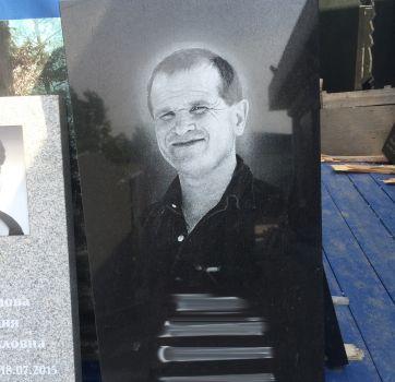 Черно белый портрет на памятник_5