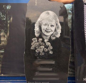 Черно белый портрет на памятник_8